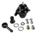 AEM Acura og Honda brændstoftrykregulator Offset med 90 Grader Return line Fittings - 25-304BK