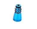 Adaptor top for 34mm to 60mm, 11mm top - blue