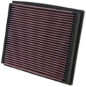 Seat, VW, Skoda Audi KN filter - K&N indsatsfilter - 33-2125