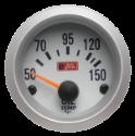 Autogauge Olietemperaturmåler - Hvid