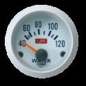 Autogauge vandtemperatursmåler - Hvid