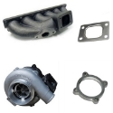 VR6 24 ventilet turbokit - Exhaust kit