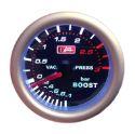 Autogauge 3 bars Turbomanometer - Smoke