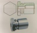 Hex Brake Locator M10x1.0