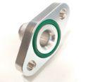 Returløbsflange AN10 tilslutning - 51mm. - Med O-ringspakning