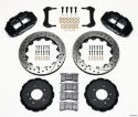 BMW E36 Narrow Superlite 6R bremsekit m/ huller - SORT