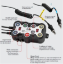 Styrebox DG10, WRC, Bluetooth +12v