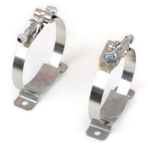 Mounting Clamps Steel For 2/3 Qt Accusump Oil Accumulator - 24-200
