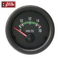 Autogauge voltmeter - Sort