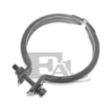 Clamp til downpipe - type 4