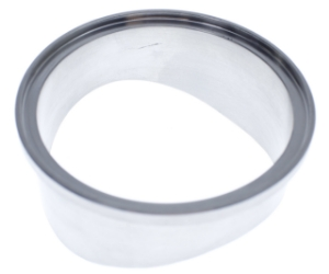 Race Port Stainless Steel Weld Flange To Suit male Blow Off Valve