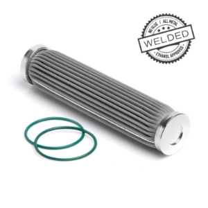 10 Micron PF200 Filter Element - Welded Stainless Steel - Nuke Performance