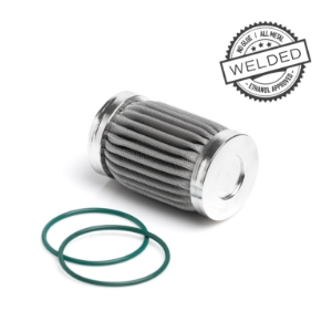 100 Micron Filter Element - Welded Stainless Steel - Nuke Performance