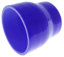 """2.5"""" til 3"""" / 63.5 mm. til 76.2mm. - Silikonereduktion - Blå"""