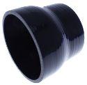 """2.5"""" til 3"""" / 63.5 mm. til 76.2 mm.  - Silikonereduktion - Sort"""