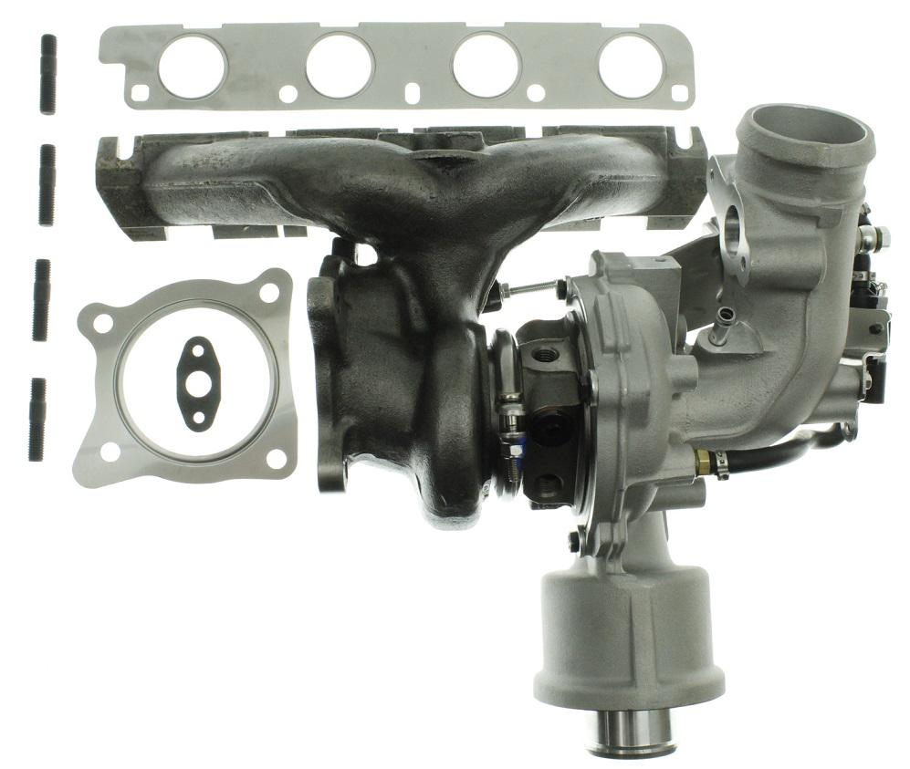 TFSI langsliggende K04 upgrade turbo - 380 hp.