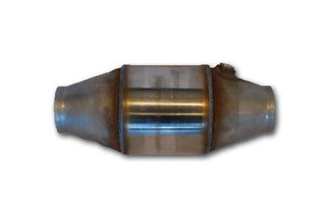 Racekatalysator 100cells høj effekt- 2,5'' - 4,5'' - SBF / FIA Godkend