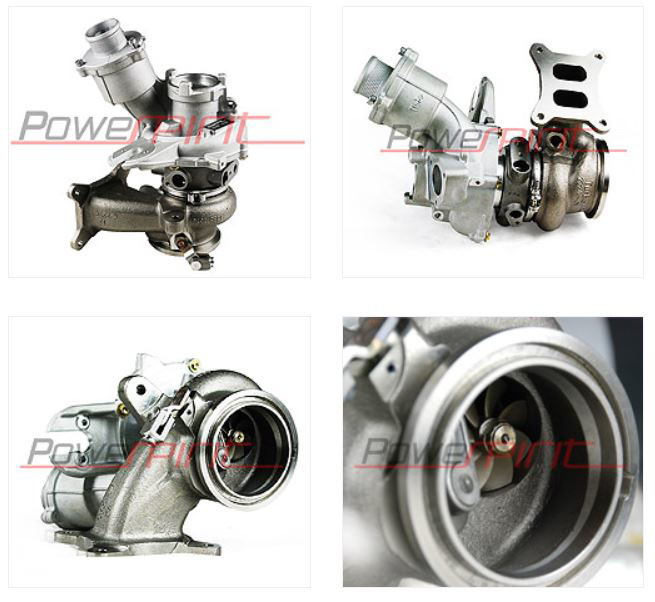 IS38XR-3 - Dual ball bearing + billet wheel - 520 HP