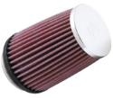 """2,87"""" KN luftfilter 73mm. K&N Clamp-on 375 hk. KN filter - RC-2600"""